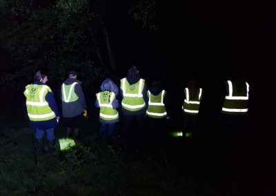 A group of Wounded Badger Patrollers on duty in Cheshire, 2018 - Copy