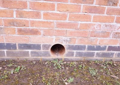 A wildlife tunnel suitable for hedgehogs and other small mammals