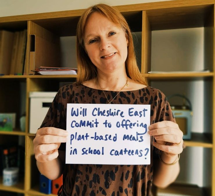 Campaign for plant based school meals