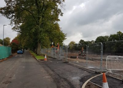 Trees felled in Cedar Avenue, Alsager, to make way for an entrance to a new development