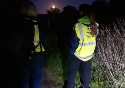 Two Wounded Badger Patrollers on duty in Cheshire, 2018 - Copy