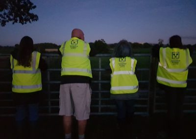 Wounded Badger Patrollers in Cheshire, 2018